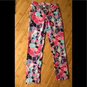 Justice Premium Floral Jeans - Size 7S